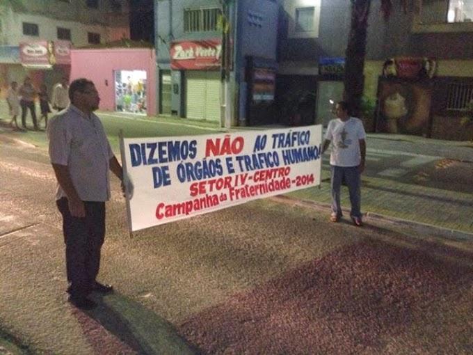 ABERTURA DA CAMPANHA DA FRATERNIDADE EM SÃO JOSÉ DE MIPIBU