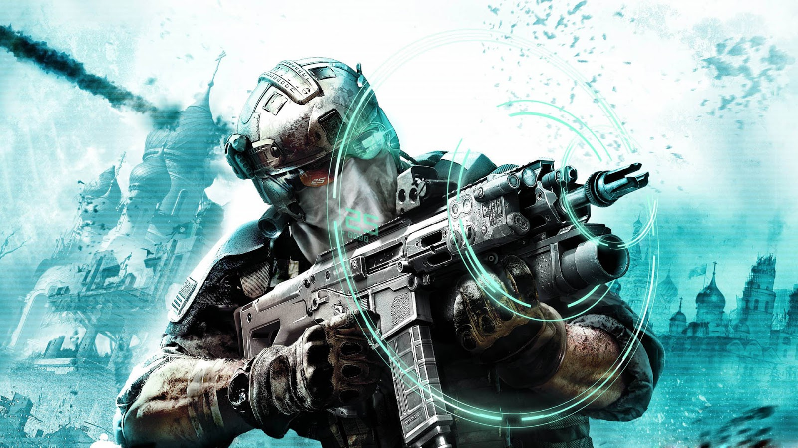 Ghost Recon Future Soldier HD & Widescreen Wallpaper 0.784167326615895