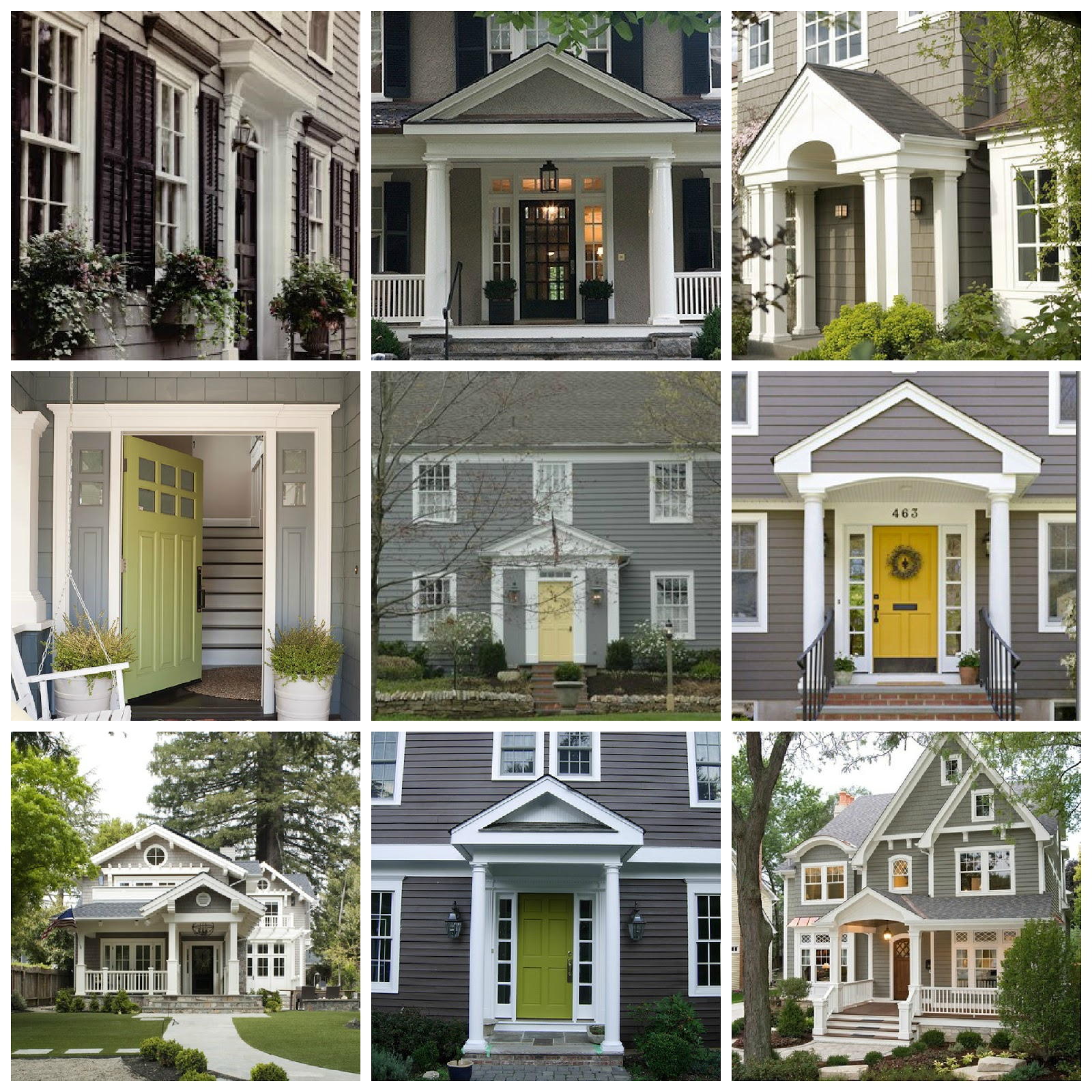 1000 images about house colors on pinterest dark grey for Grey exterior house