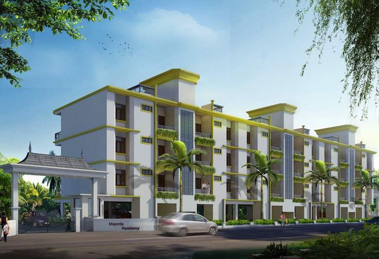 Kerala house plan 3 bedroom amazing 1500 square feet 3 for Apartment plans in kerala