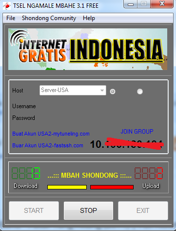 Download SSH INTERNET GRATIS 1 BULAN TSEL [Edisi Januari 2015]