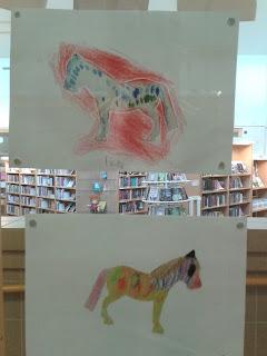"GSS 4-6 A har  ritat ""sin"" dröm-häst"