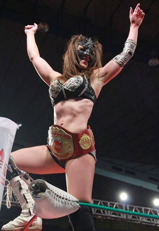 Sexy Star-mexican lady wrestlers-luchadora women