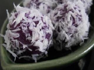 Resep Klepon Ubi ungu yang enak