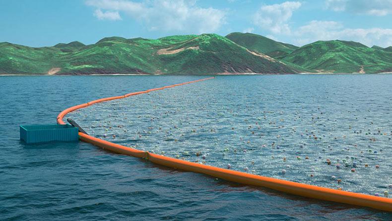 Idea de ingeniero de 20 años para limpiar el Océano se pondrá en marcha el próximo año