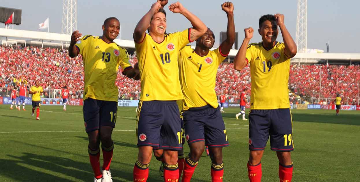 Así jugó la selección Colombia que venció a Chile