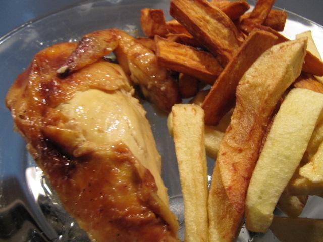 La cuisine de gaelle poulet moelleux p el e de poivrons - Cuisiner des blancs de poulet moelleux ...