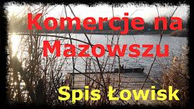 Spis łowisk komercyjnych- Mazowsze