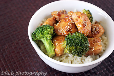 The Curious Country Cook: : Light Sesame Chicken for 2
