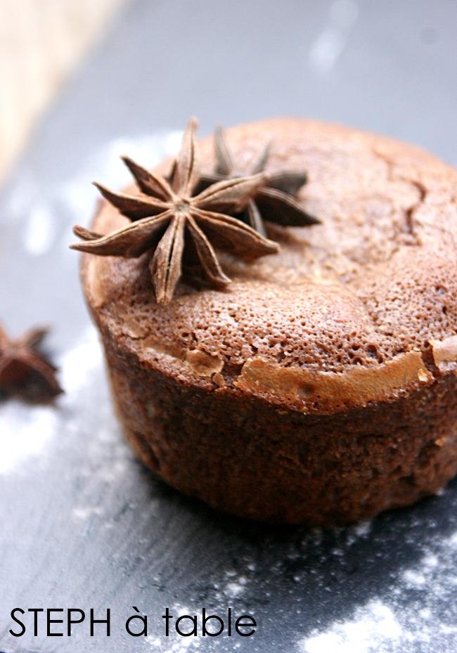 L Inratable Moelleux Au Chocolat Au Cœur Coulant Praline Stephatable