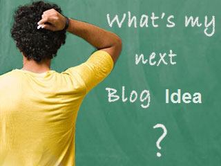 Blogging Next Idea