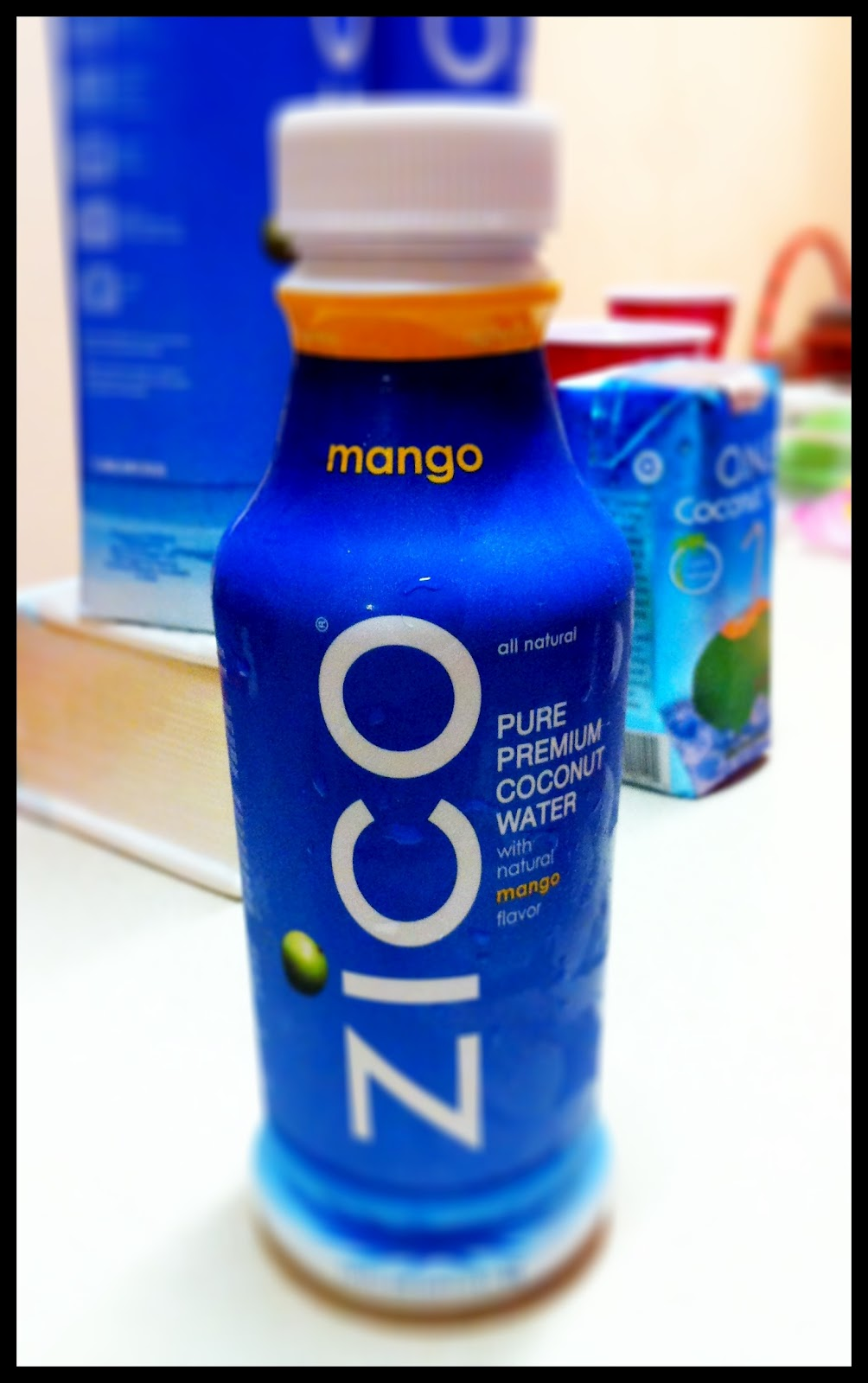 ... natural coconut water from concentrate natural flavors citric acid