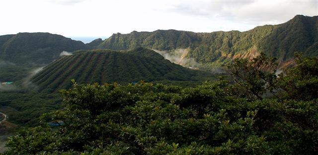 Aogashima - isola del giappone