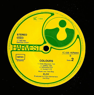 Eloy - Eloy / Colours