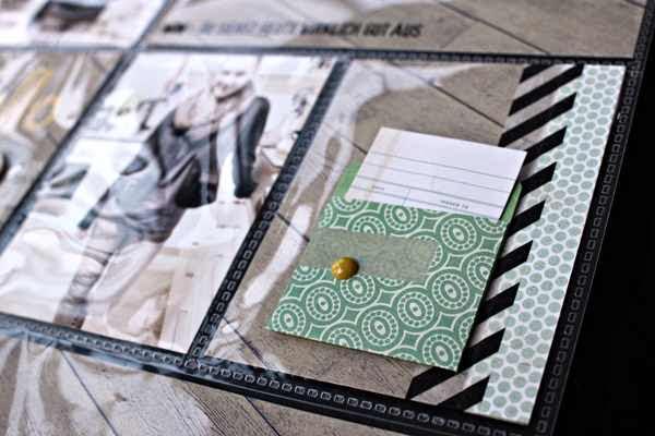 Basic Grey - Fact and Fiction - Mini Envelopes