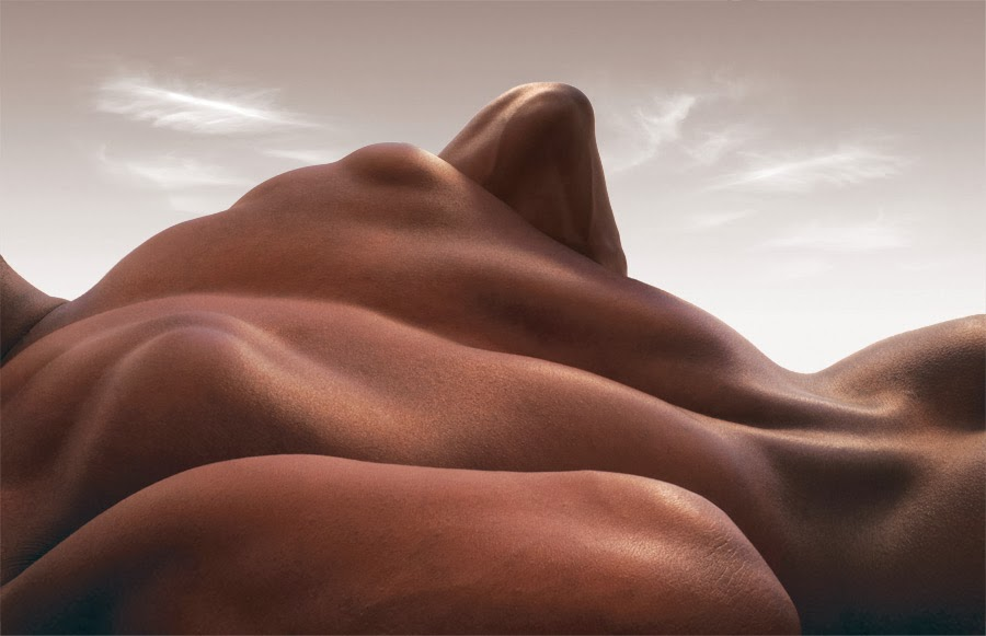 Carl Warner, bodyscapes, fotografía