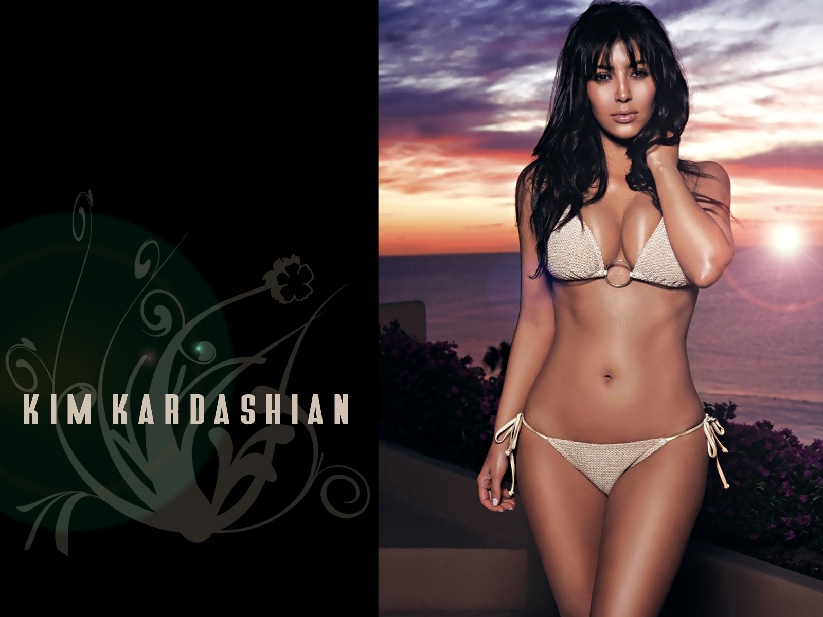 kim kardashian wallpaper