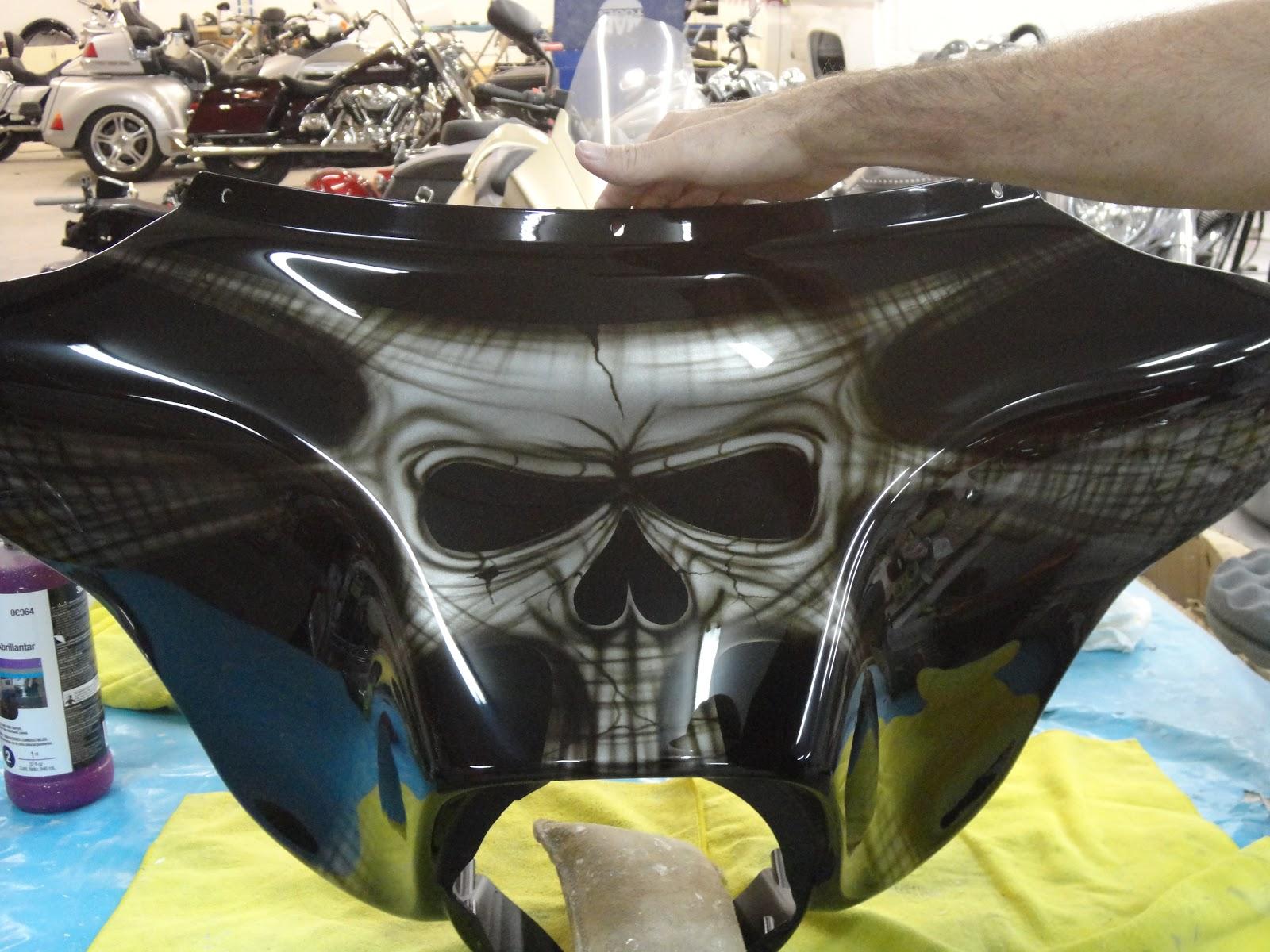Johnston body works bikes custom paint by johnstons for Custom paint and body