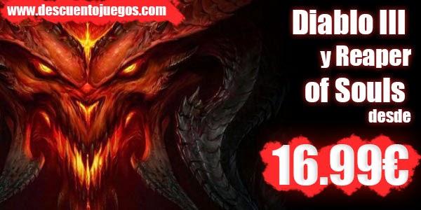Comprar Diablo III 3 Reaper of souls barato descuento