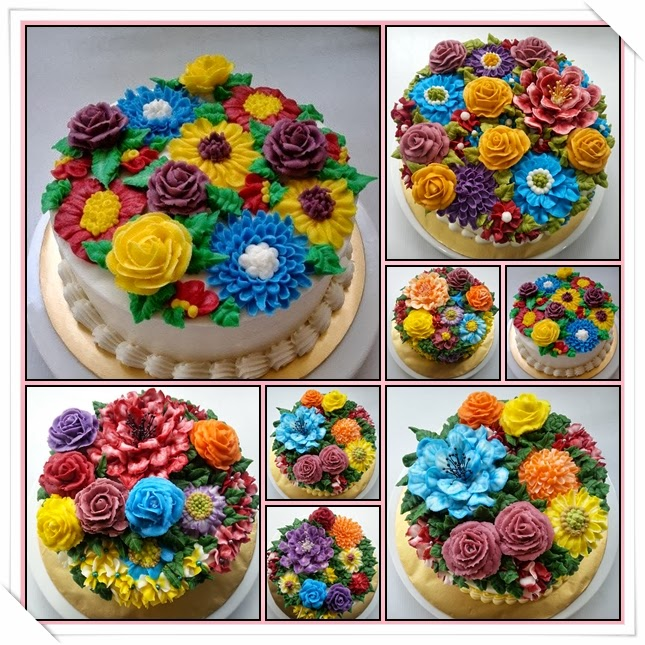 how to make buttercream flowers bignner