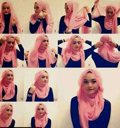 Comment faire foulard hijab moderne