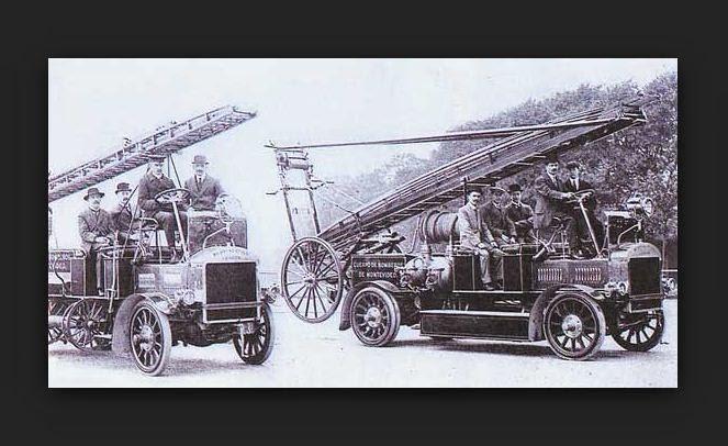 El primer bombero de la historia