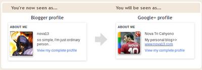 Migrasi dari Profile Blogger ke Google+