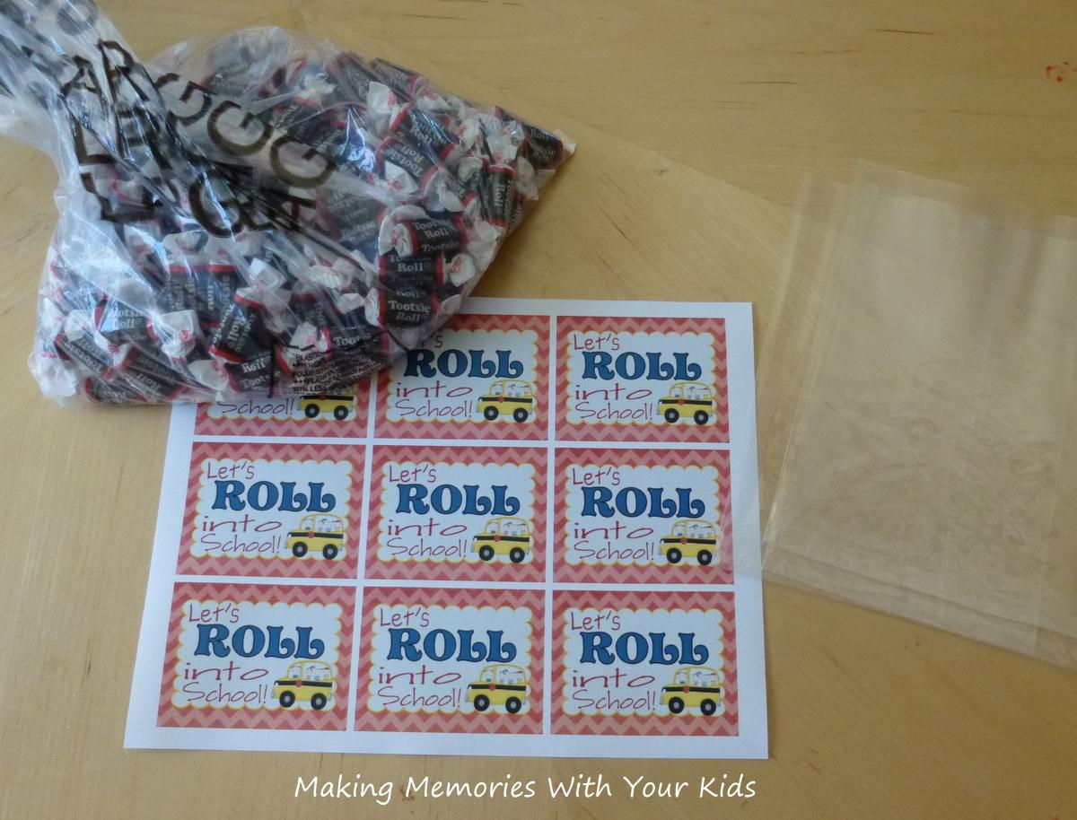 Let's Roll Into School - Back to School Teacher Gift - Making Memories ...
