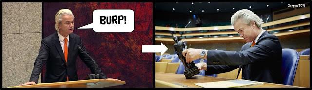 Zomperd - Maagoprisping Wilders leidt tot debatprijs