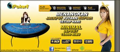 IPOKER8 Situs Agen Judi Poker dan Domino Online Terpercaya Indonesia