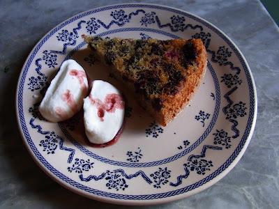 torta alle more selvatiche (ovvero un momentaneo, vacanziero, ritorno alle origini!)