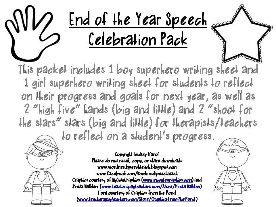 Written speeches for high school students