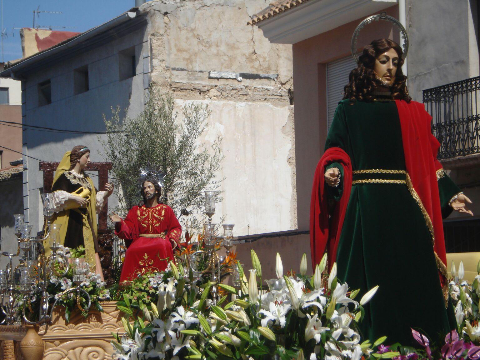 San Juan y Samaritana.