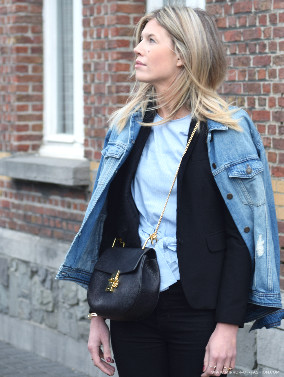 Outfit of the day, Zara, Maje, Chloé, Geox, Jbrand, ootd, style, look, fashion, blogger