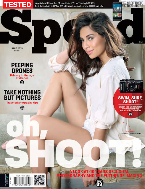 Actress, Commercial Model, Dancer @ Jasmine Curtis Smith - Speed Philippines, June 2015