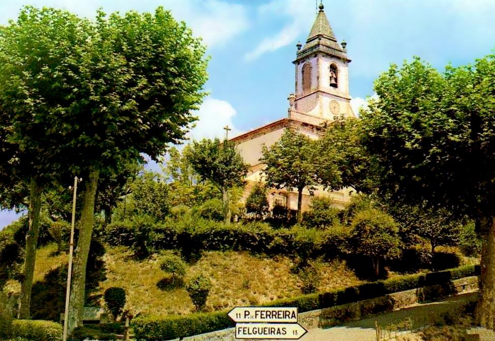 Lousada Portugal  City pictures : Retratos de Portugal: Lousada Jardim e Igreja do Senhor dos Aflitos