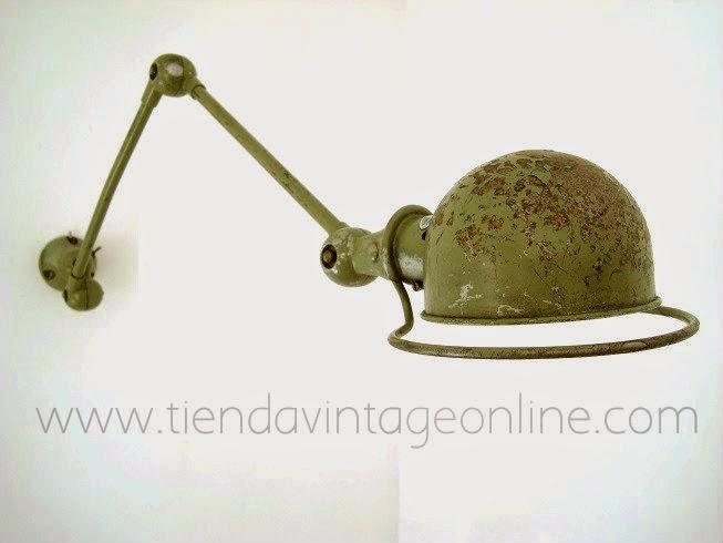Donde comprar aplique flexo lampara pared jielde francia brazos articulados.