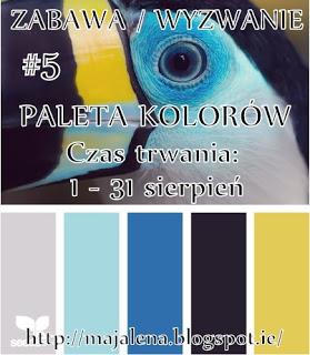 Zabawa/Wyzwanie Paleta Kolorów
