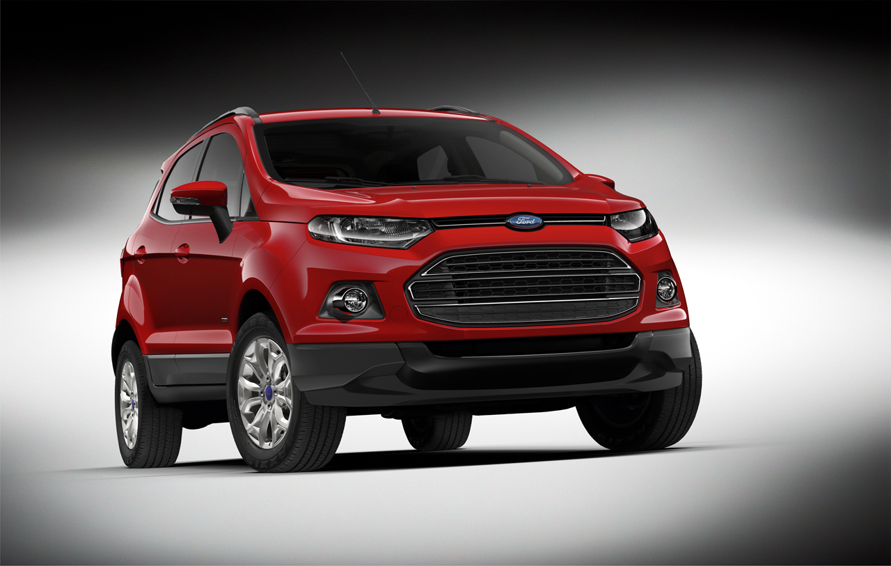 Ford unveils production ecosport in beijing