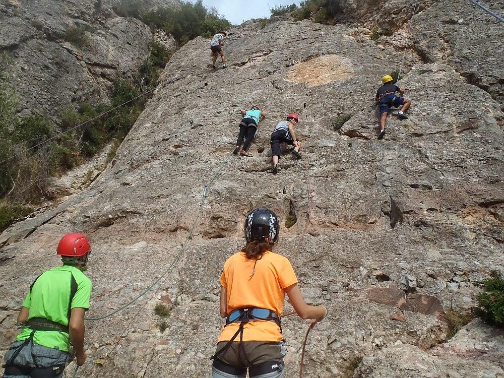 Cursos d'escalda en roca