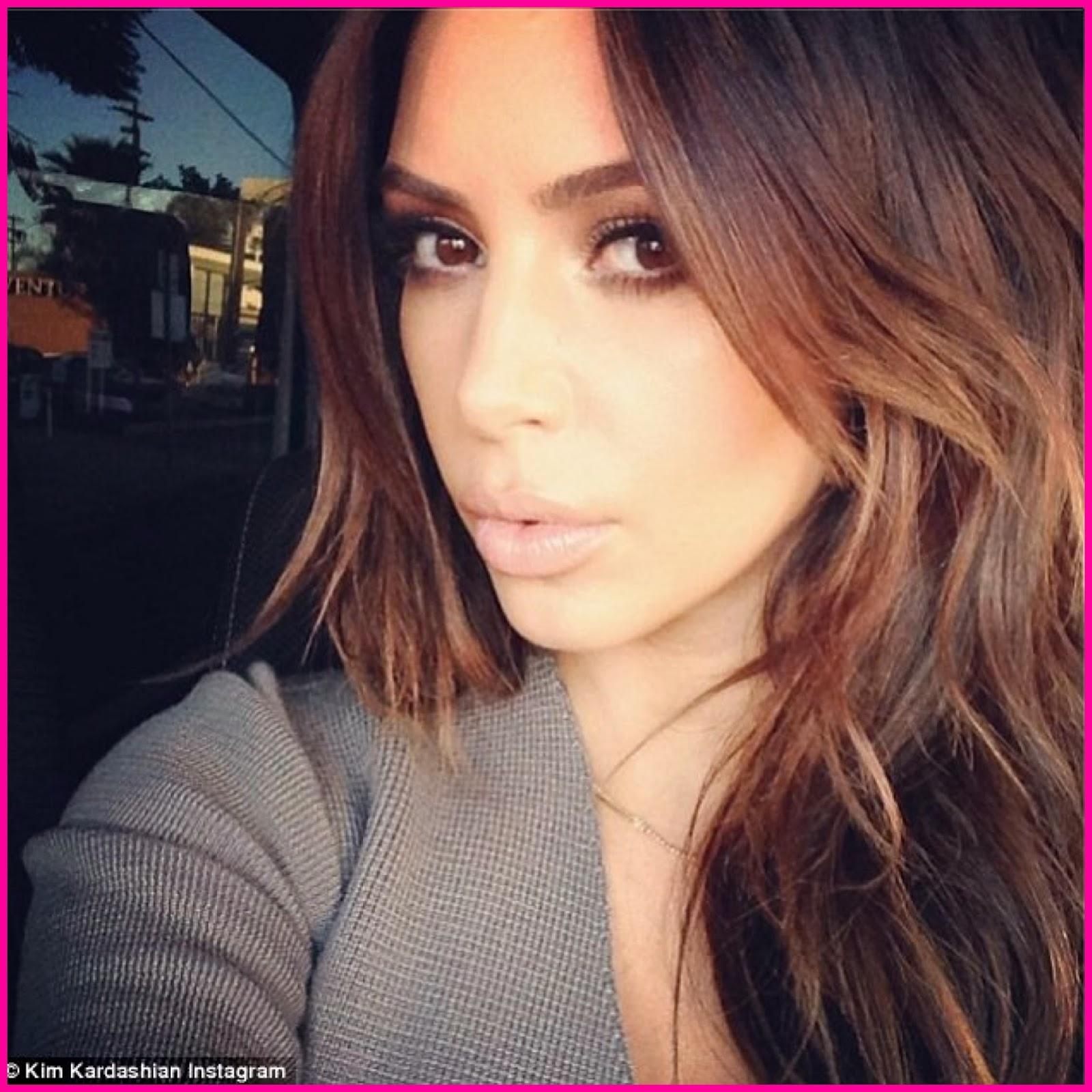 Lawrencia Udifes Blog Shes Back Kim Kardashian Ditches The