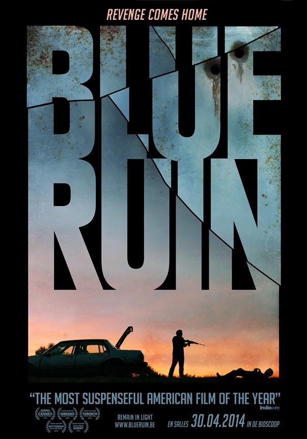 Póster de Blue Ruin, de Jeremy Saulnier