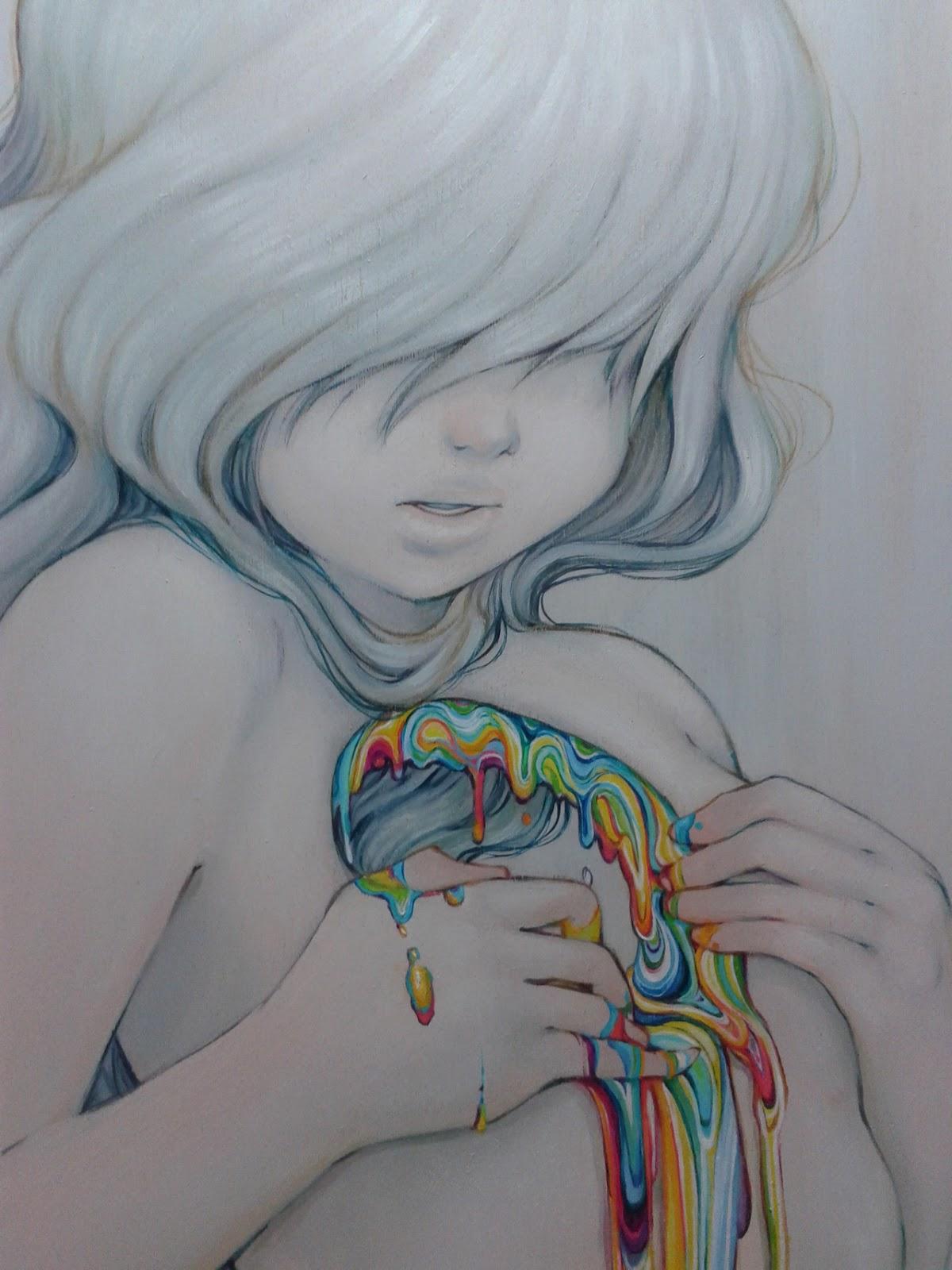 S m o k y l a n d il pop surrealism di camilla d 39 errico for Disegni da colorare tumblr