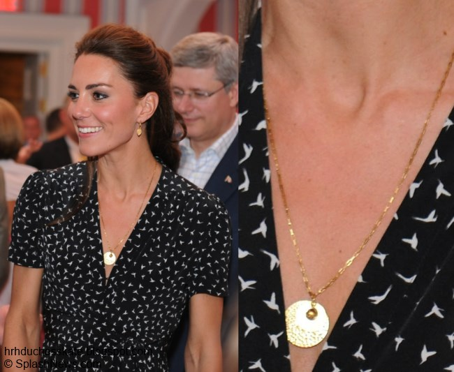 Duchess Kate Kate Loves Jewellery Necklaces