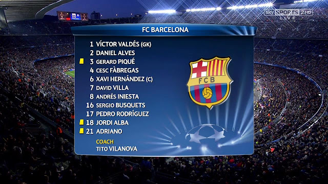 Barcelona v Paris Saint-Germain