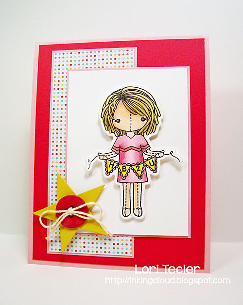 HB2U card-designed by Lori Tecler/Inking Aloud-stamps and dies from Clear and Simple Stamps