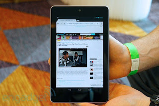 nexus 7 tablet hands on