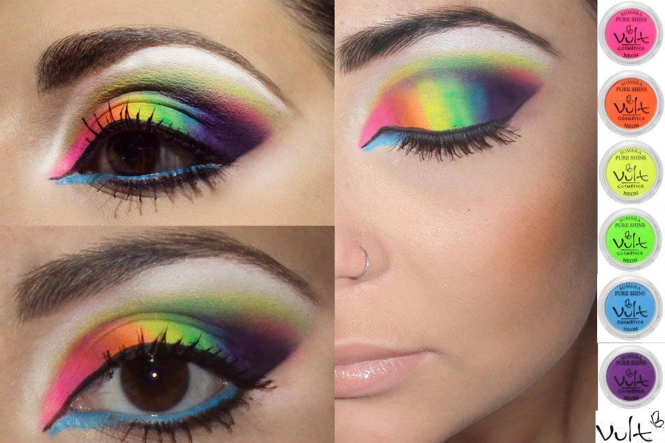 Excepcional Yes Cosmetics - Brasilia - Guara: Tutorial de maquiagem - Neon  XV13