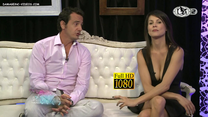 Busty Ursula Vargues hot cleavage damageinc HD video