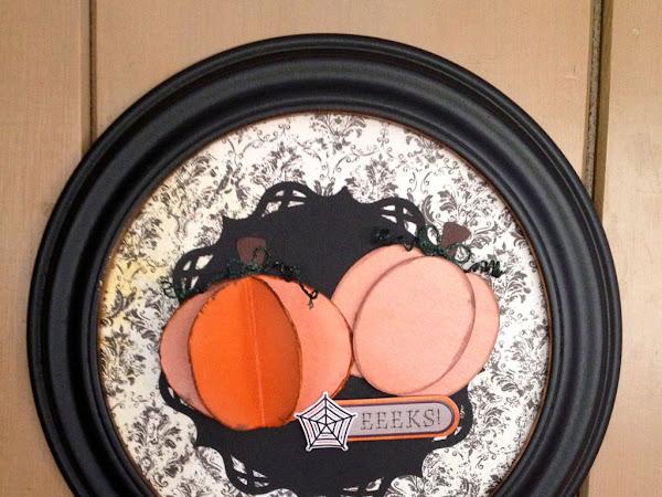 Guest Designer: Becky's Pumpkin Wall Hanging